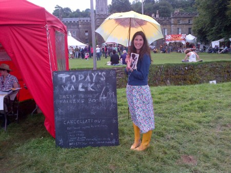 The Walking Book Club at Port Eliot
