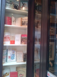 Antiquarian bookshop in Rome